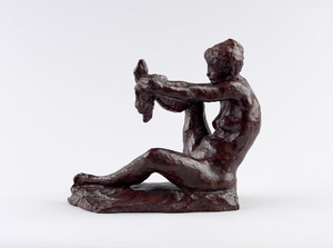 Gabrielle Drying Her Foot (Auffret, 1964)