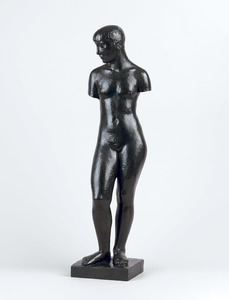 The Adolescent (Figure with head and without arms) (Despiau)