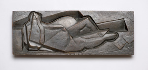 Reclining Woman, Frontal View (Laurens, 1921)