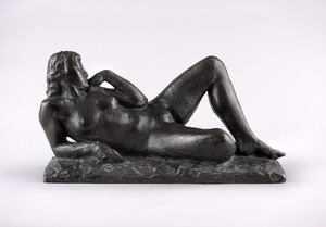 Homage to Baudelaire or Dédette Reclining, Small Version (Wlérick, 1939-1940)