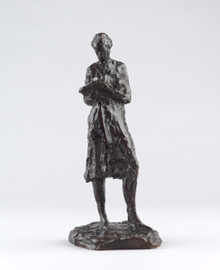 Young Girl Reading, small version (Auffret, c. 1973)