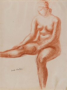 Femme assise (Martinie)